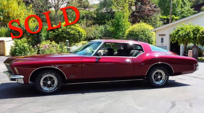 1971 Buick Riviera Beautiful Award Winning <font color=red>*SOLD*</font color>