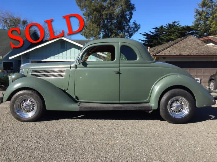 1936 Ford 5 Window Deluxe Coupe