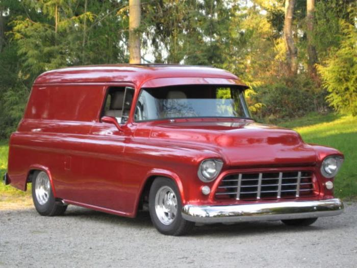 1956 Chevrolet Panel Wagon