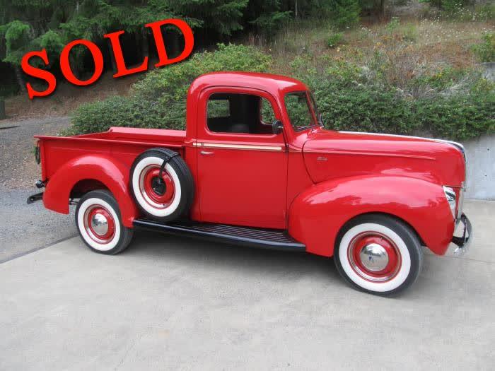 1940 Ford Pickup <font color=red>*SOLD*</font color>