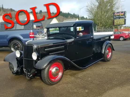 1934 Ford Hot Rod Truck All Steel