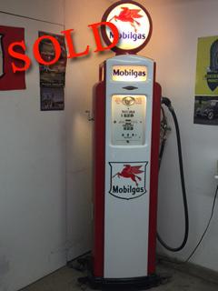 1939 Bennett Gas Pump <font color=red>*SOLD*</font color>