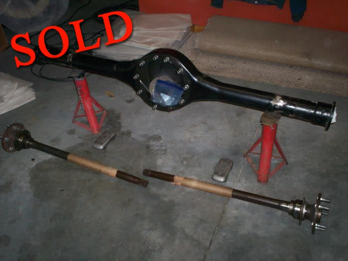 """Used Parts - Mopar 8 3/4"""" Rear End Housing and Axles"""