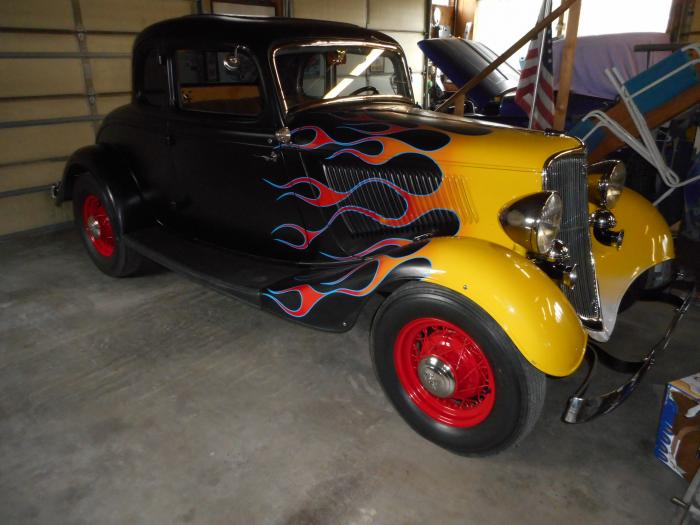 1933 Ford 5 Window Coupe Steel