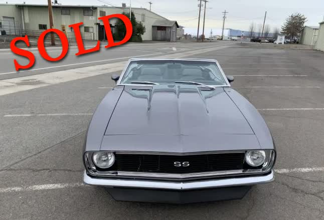1967 Chevrolet Camaro RS Convertible <font color=red>*SOLD*</font color>