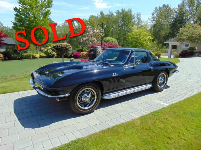 1966 Chevrolet Corvette Coupe 437 - 390 hp <font color=red>*SOLD*</font color>