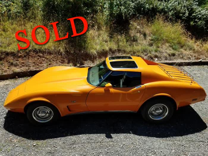 1977 Chevrolet Corvette L48 One Owner Family <font color=red>*SOLD*</font color>