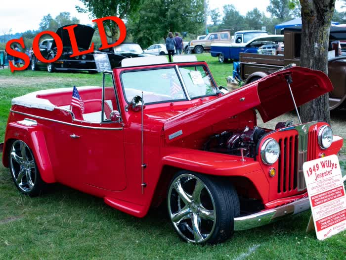 1949 Willys Jeepster Resto Mod <font color=red>*SOLD*</font color>
