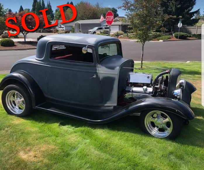 1932 Ford 3 Window Coupe <font color=red>*SOLD*</font color>