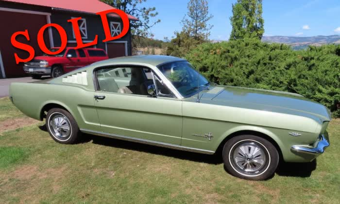 1966 Ford Mustang 2+2 Fastback <font color=red>*SOLD*</font color>