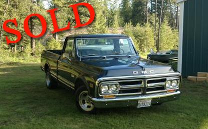 1971 GMC Short Bed Pickup Truck All Original <font color=red>*SOLD*</font color>