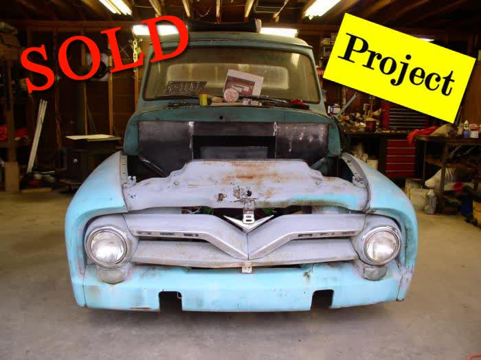 1955 Ford F100 Pickup Truck Project