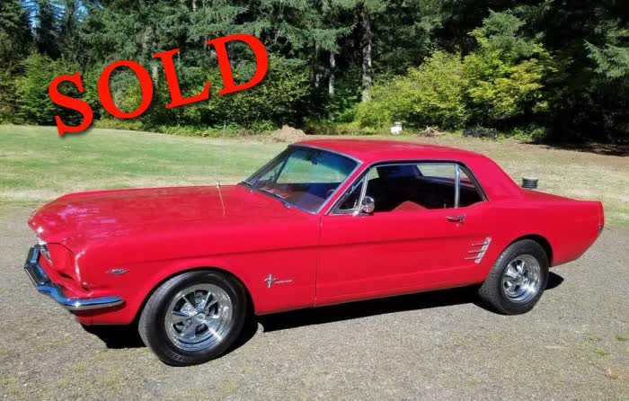 1966 Ford Mustang <font color=red>*SOLD*</font color>