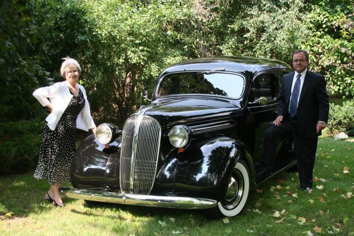 1937 Plymouth 4 Door Sedan