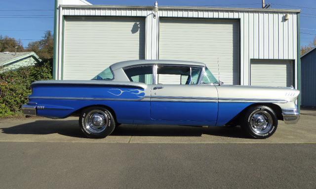 1958 Chevrolet Biscayne 2 Door Coupe