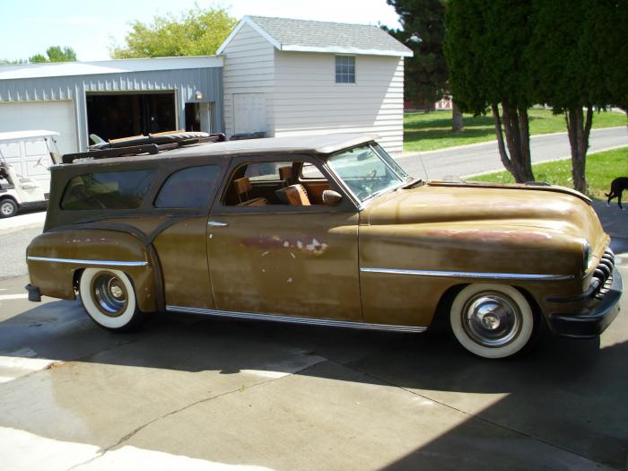 1952 Desoto Phantom Woody