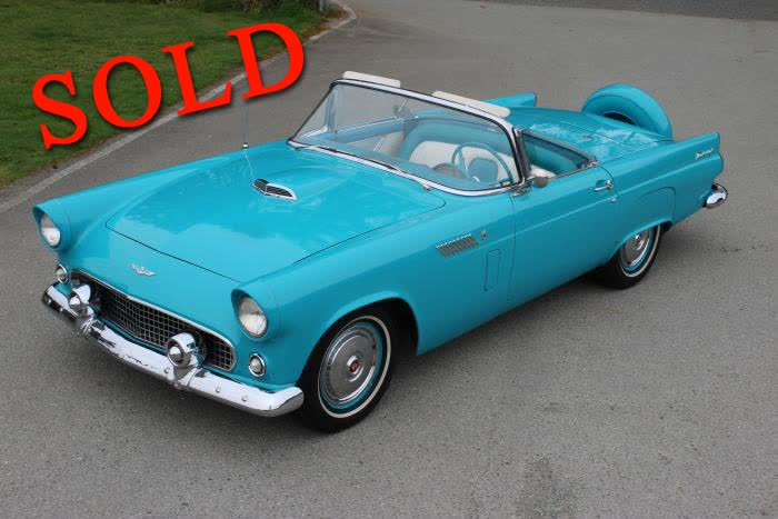 1956 Ford Thunderbird <font color>*SOLD*</font color>