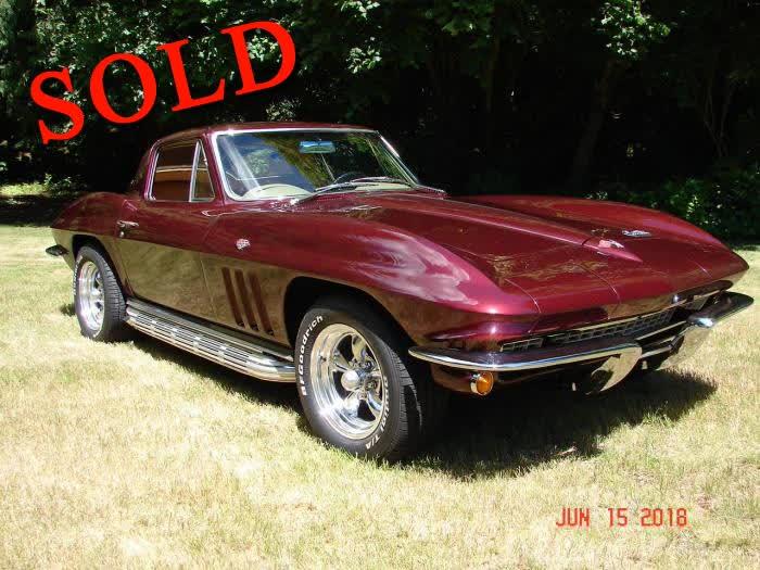 1966 Chevrolet Corvette Coupe <font color=red>*SOLD*</font color>