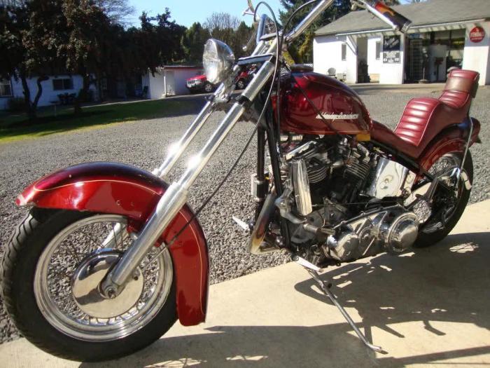 1950 Harley Davidson Panhead Chopper