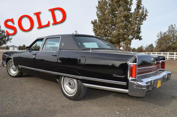 1976 Lincoln Town Car <font color=red>*SOLD*</font color>