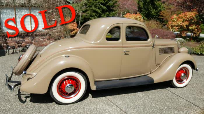 1935 Ford Deluxe Coupe