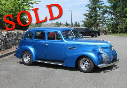 1939 Pontiac Sedan