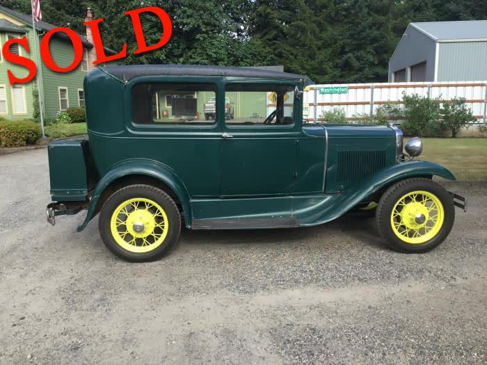 1931 Ford Model A Tudor <font color=red>*SOLD*</font color>
