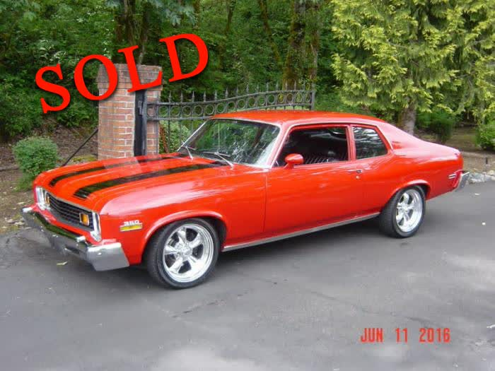 1973 Chevrolet Nova Hatchback <font color=red>*SOLD*</font color>