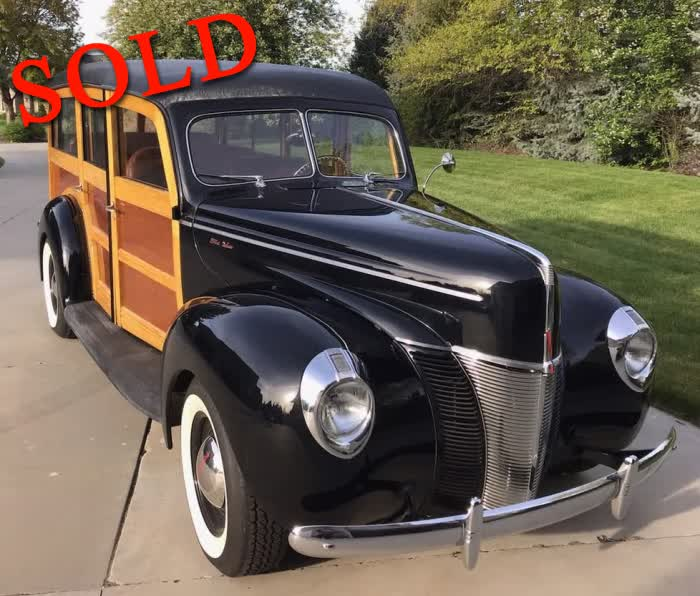 1940 Ford Deluxe Woodie <font color=red>*SOLD*</font color>