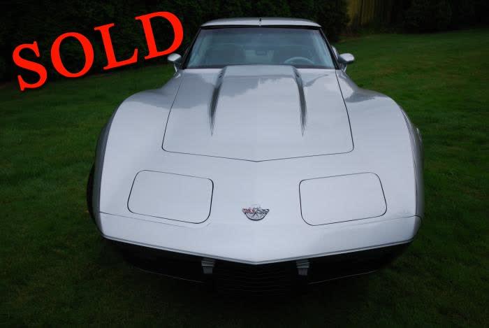 1978 Chevrolet Corvette Silver Anniversary 350 L82