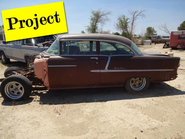 1955 Chevrolet  - TWO Project Vehicles