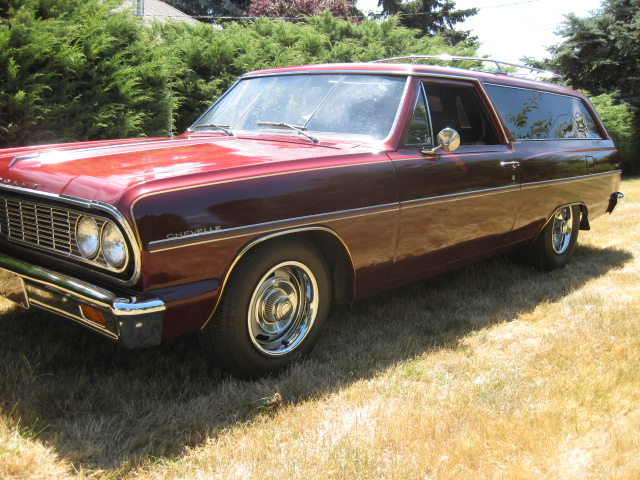 1964 Chevrolet Chevelle 2 Door Wagon