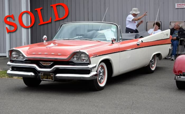 1957 Dodge Coronet Convertible, Hemi Powered <font color=red>*SOLD*</font color>