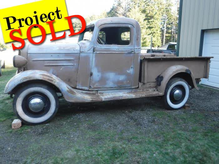 1936 Chevrolet Pick Up <font color=red>*SOLD*</font color>