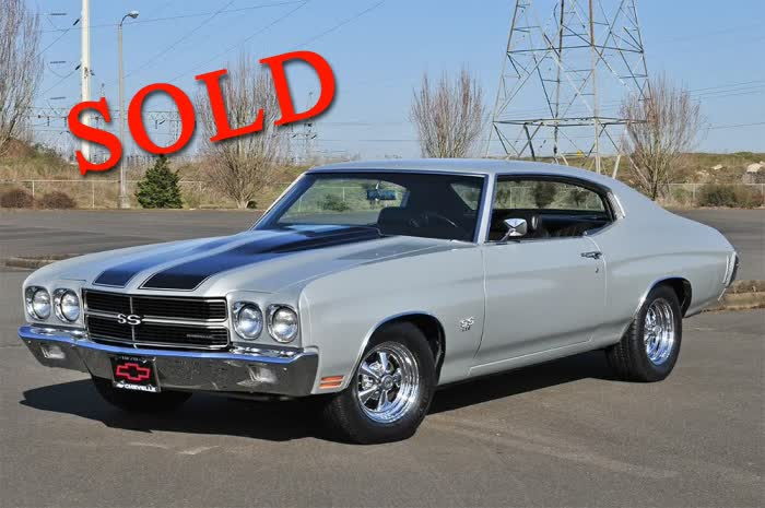 1970 Chevrolet Chevelle SS 396 <font color=red>*SOLD*</font color>