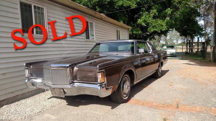 1971 Lincoln Continental Mark III <font color=red>*SOLD*</font color>
