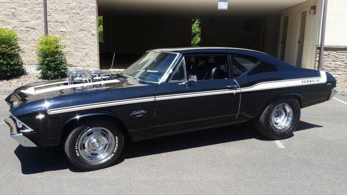 1969 Chevrolet Malibu 2 Door Post (RARE)