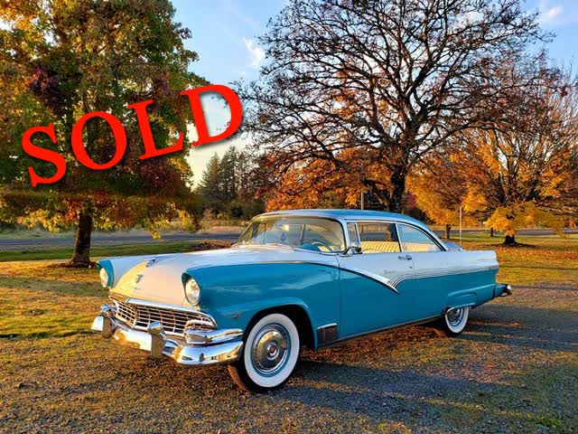 1956 Ford Fairlane Victoria <font color=red>*SOLD*</font color>