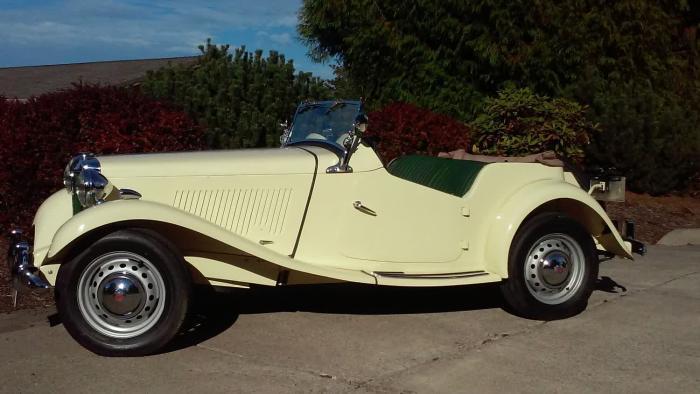 1952 MG TD - Fully Restored