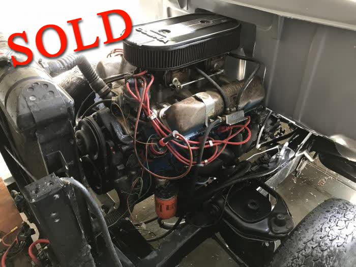Used Part - 1968 Ford 428 Cobra Jet Engine