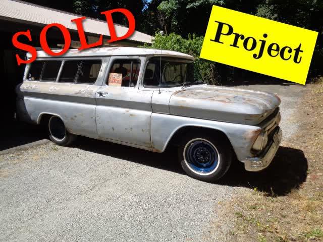 1962 Chevrolet Suburban C-10 1/2 Ton <font color=red>*SOLD*</font color>