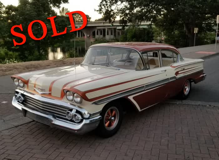 1958 Chevrolet Biscayne <font color=red>*SOLD*</font color>