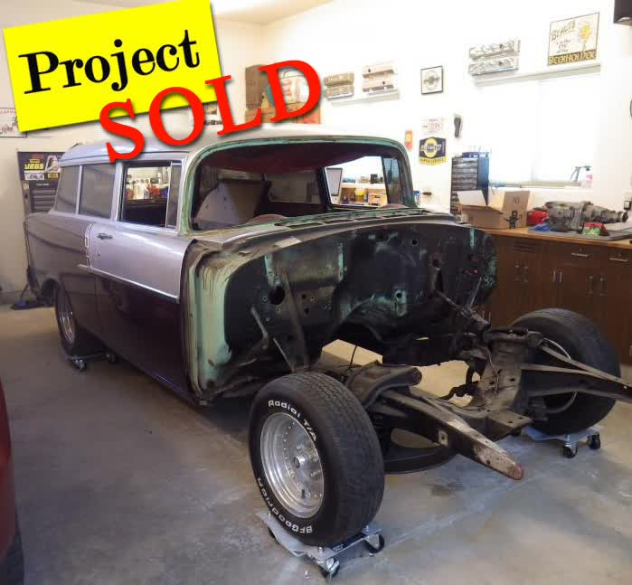 1956 Chevrolet 150 Handyman 2 Door Wagon Project <font color=red>*SOLD*</font color>