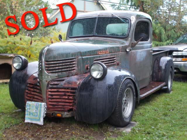 1946 Dodge Pickup Model WC <font color=red>*SOLD*</font color>