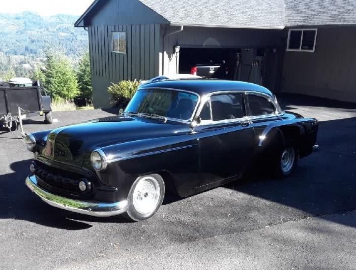 1953 Chevrolet Bel Air 2 Door Post
