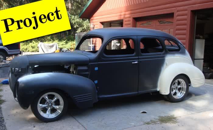 1939 Dodge D11 Luxury Sedan