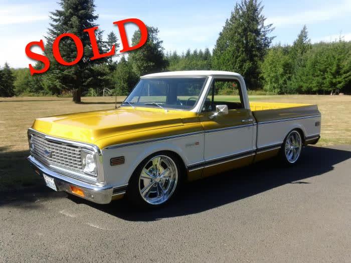 1972 Chevrolet CST/10 Short Wide Pickup <font color=red>*SOLD*</font color>