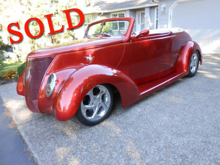 1937 Ford Cabriolet <font color=red>*SOLD*</font color>