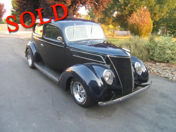 1937 Ford Humpback 2 Door Sedan Steel <font color=red>*SOLD*</font color>