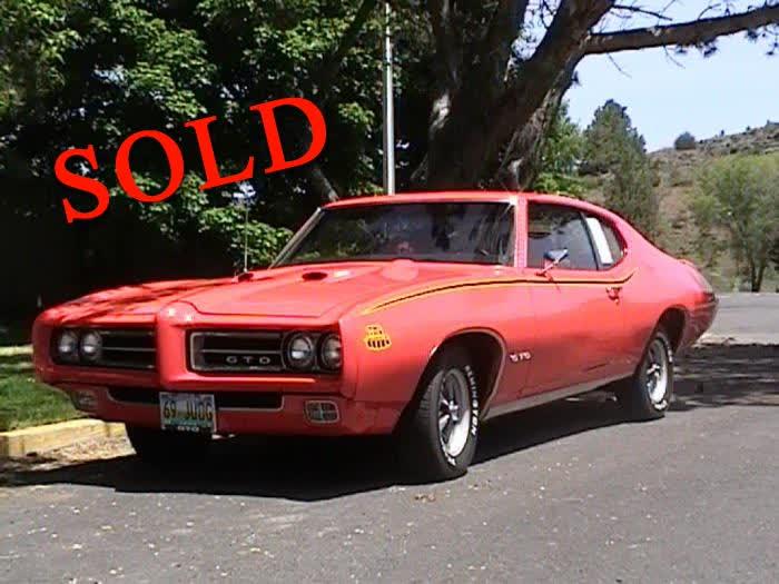 1969 Pontiac GTO JUDGE <font color=red>*SOLD*</font color>